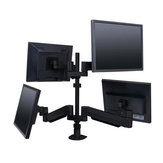 Floating LCD Monitor Arms - Multiple Monitors