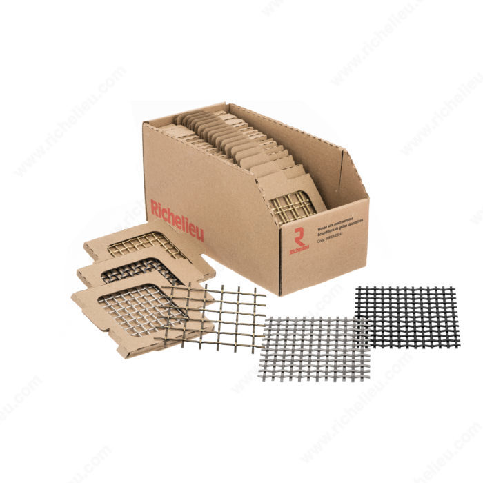 Wire Mesh 3 - Sample Book - Richelieu Hardware