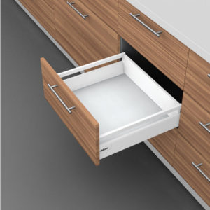 Drawer with Tubes - Height B (160 mm)