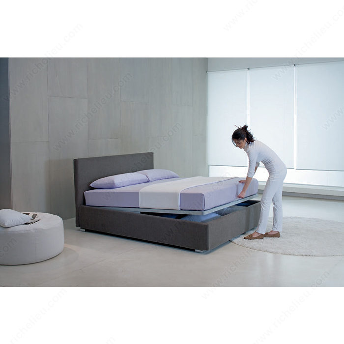 Bed with Kangaroo Storage Set with 2 Opening Positions-5