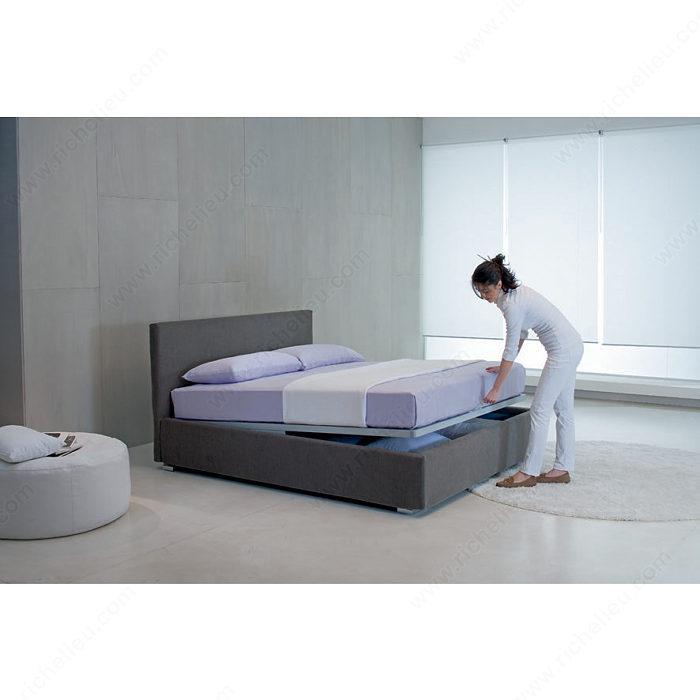Ensemble pour lit avec espace de rangement kangourou for Chambre kangourou