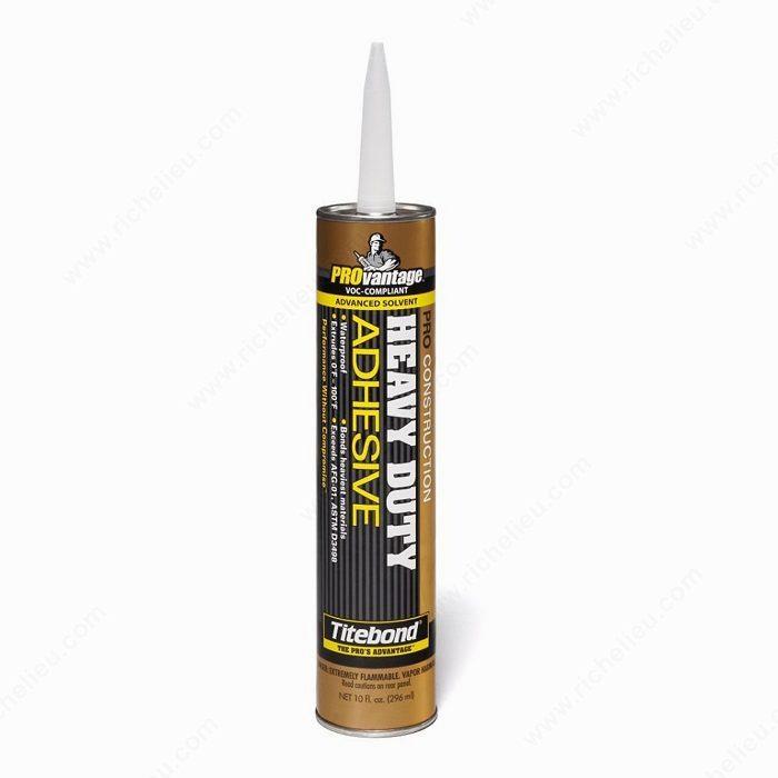 Heavy Duty Glass Glue : Pro heavy duty construction adhesive richelieu hardware