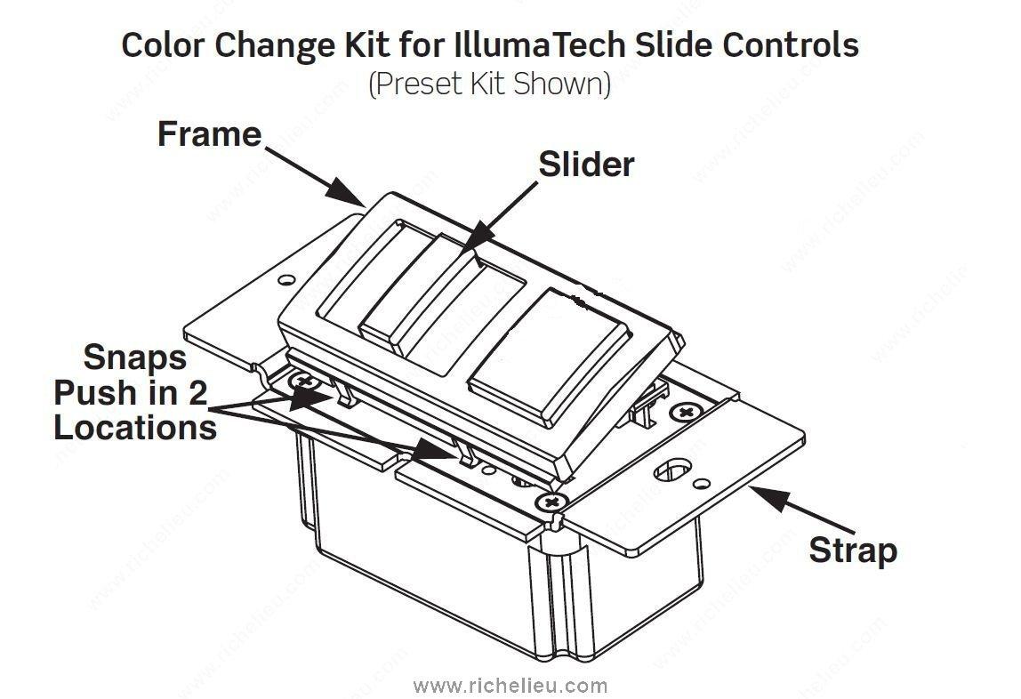 illumatech slide dimmer