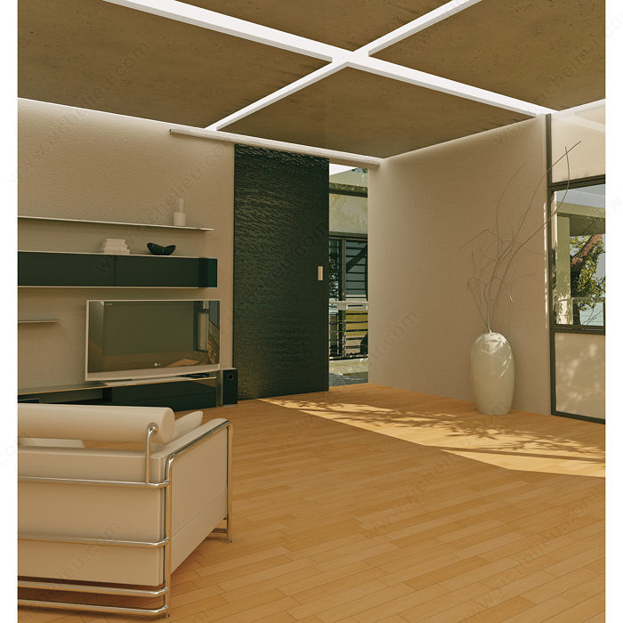 Dn 50 cf top hung sliding system with central drive for Commercial interior sliding doors