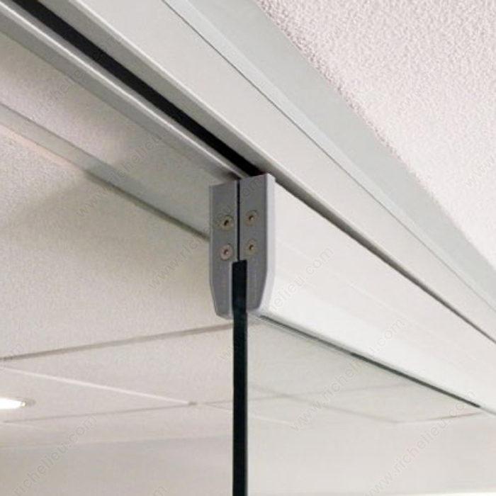 Rail coulissant pour porte en verre sans tableau isolant - Rail coulissant pour porte en verre ...