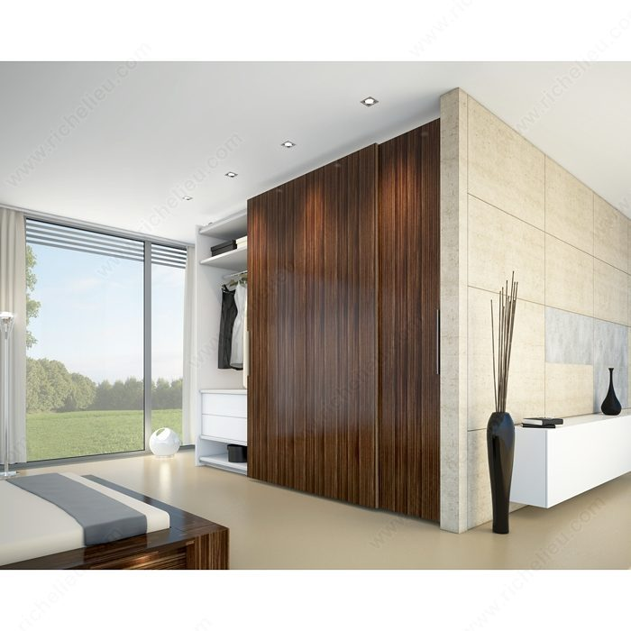 hawa antea 80 fs by pass sliding system for large heavy doors richelieu hardware. Black Bedroom Furniture Sets. Home Design Ideas