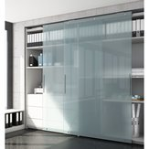 Versatile System with Heavy Duty Mechanism for Large Cabinet Doors. HAWA-Antea 50-80/FS - Operation: 2 Door By-Passing