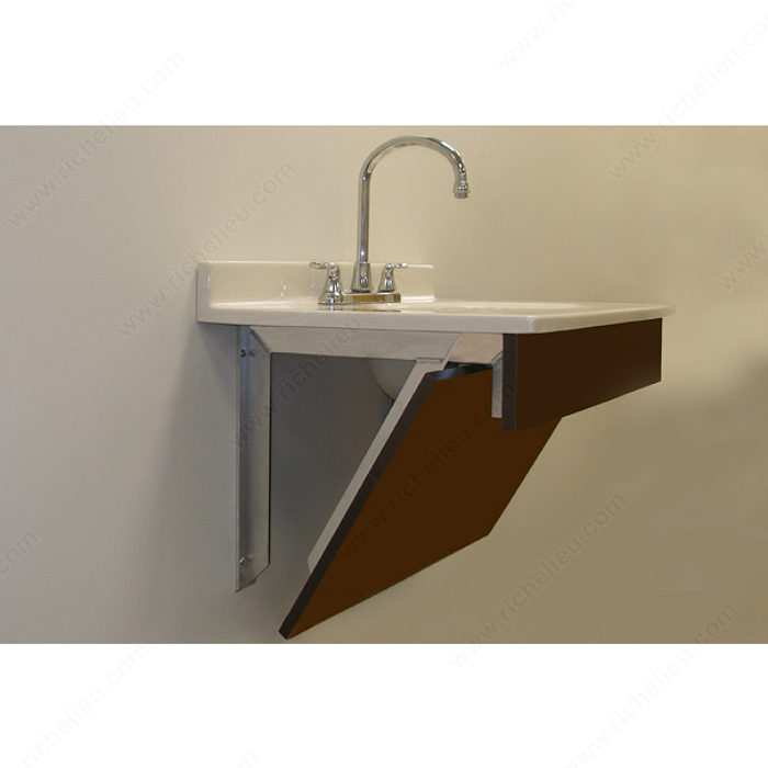 Vanity Support Bracket With Wood Mounting Face Richelieu