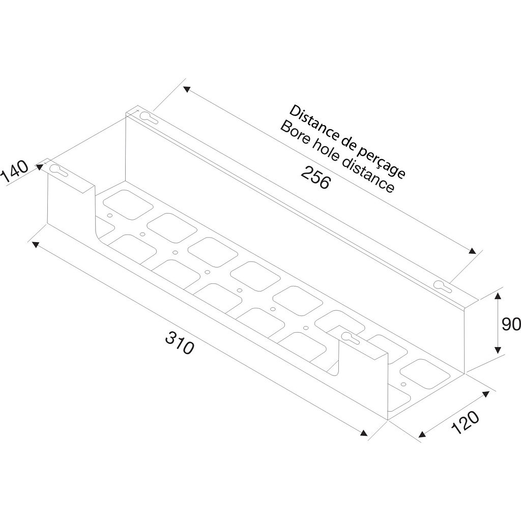 u-box cable holder