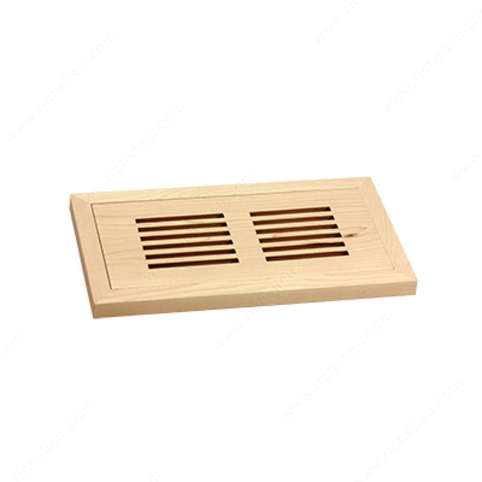 Flush Mount Floor Register Wood Richelieu Hardware