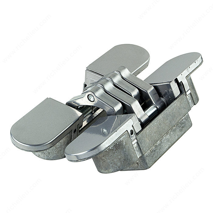 3 axes adjustable concealed hinges richelieu hardware for Hidden hinges