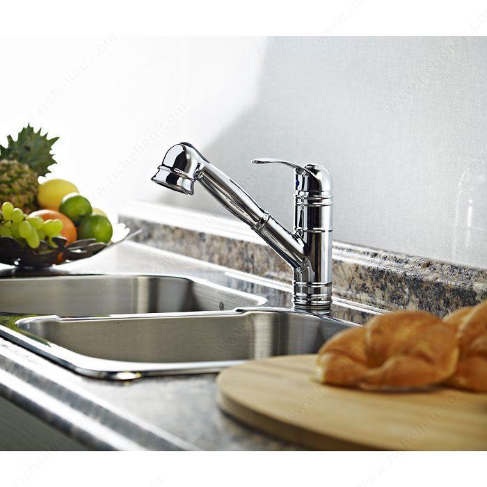 robinet de cuisine riveo quincaillerie richelieu. Black Bedroom Furniture Sets. Home Design Ideas