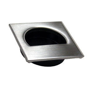 Contemporary Recessed Stainless Steel Pull - 7540