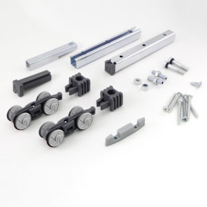 Hardware Set for 1 Sliding Door, 50 kg
