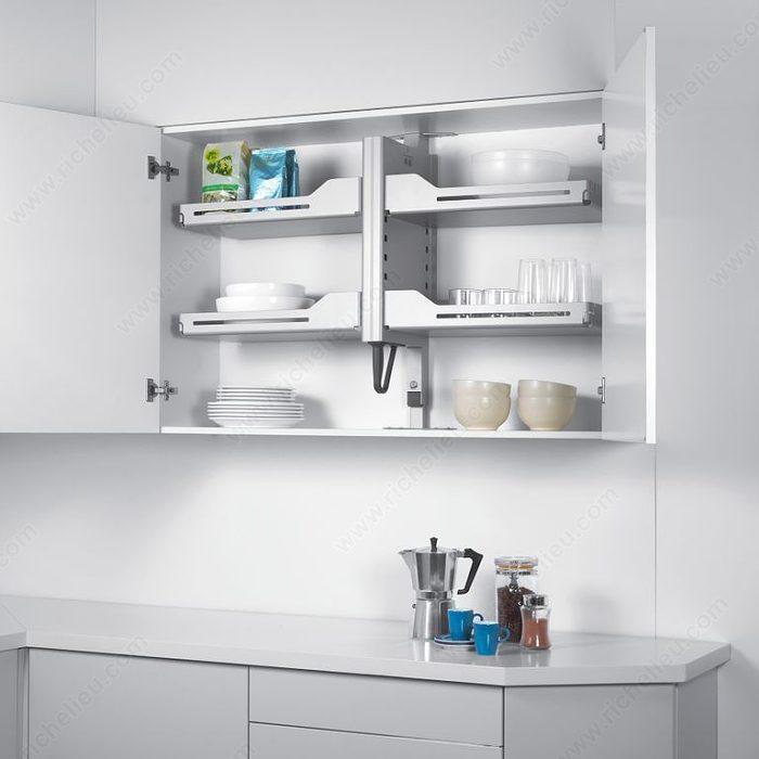 Kitchen Shelves Nz: Pegasus Pull-Down Mechanism