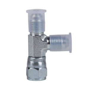 T-Fitting for Two Flow Spray Guns