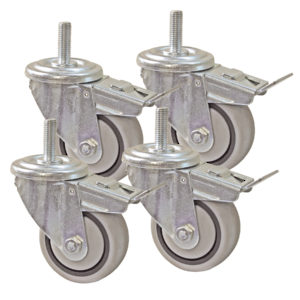 "Kreg 3"" Dual Locking Caster Set for Kreg Universal Bench"