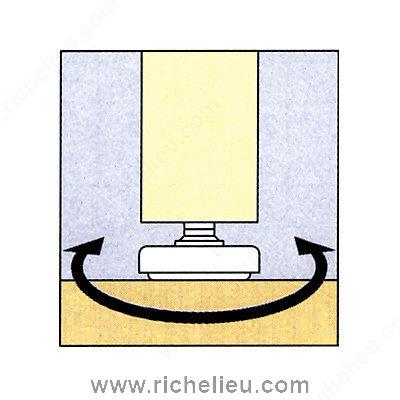 3 8 Swivel Leveler Richelieu Hardware