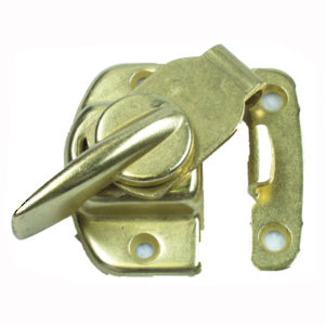 Spring-Activated Sash Lock and Keeper
