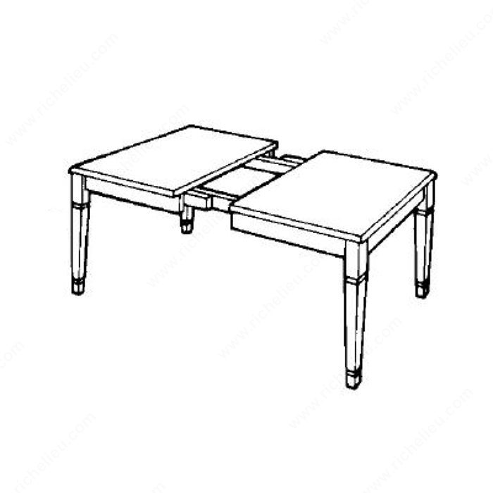 Gu as correderas met licas para mesas de 4 patas - Patas metalicas para mesas ...