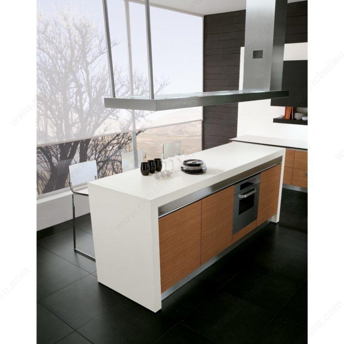 m canisme de coulisse pour extension de table milo. Black Bedroom Furniture Sets. Home Design Ideas