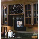 Wood Stemware Rack