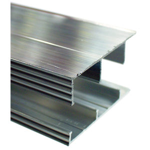 Sliding Door Track - Aluminum