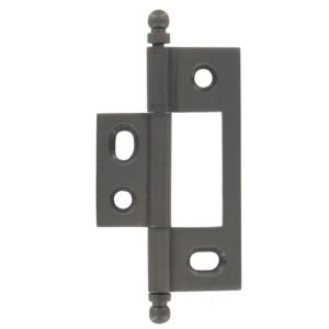 Solid Brass Colonial Hinge - Non-Mortise