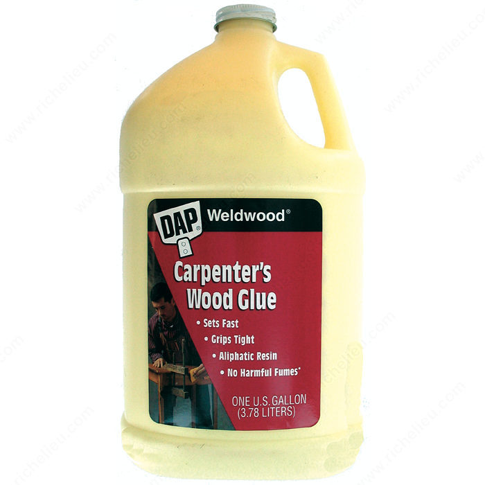 Pegamento amarillo para madera DAP Weldwood - Richelieu Hardware