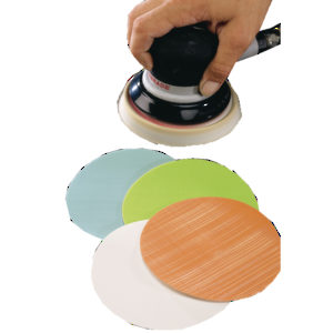 "5"" Color-Coded Ultra-Fine Micron Film Disc - No Holes"