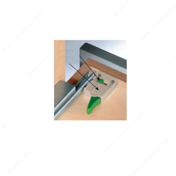 Locking Device For Undermount Drawer Slide Richelieu