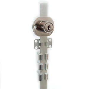 Pedestal Drawer Lock - Side Mount