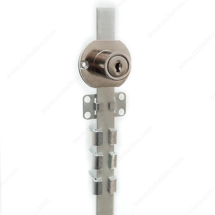 Cerradura de pedestal para cajones montaje lateral for Cerradura para cajon