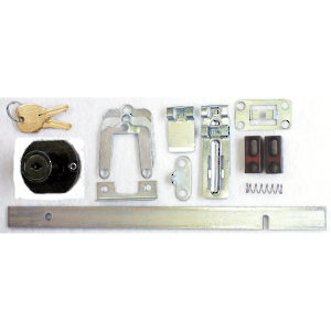 Pedestal Drawer Lock - Drawer Mount