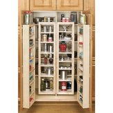 Swing Out Pantry Unit - Maple