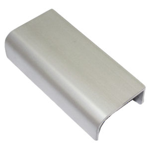 "Contemporary Curved Pull for 1/2""-7/8"" Panel - 43"