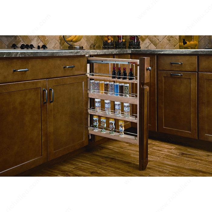 fileur coulisses blum et fermeture amortie pour armoire du bas quincaillerie richelieu. Black Bedroom Furniture Sets. Home Design Ideas