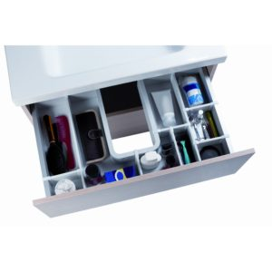 Sidewall for AGON Vanity Drawer Divider