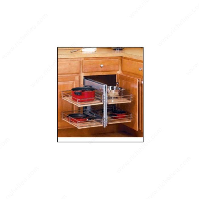 Blind Corner Kitchen Cabinet: Blind Corner Base Cabinet Pull-Out
