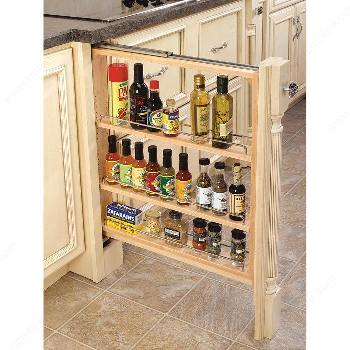 fileur coulisse fermeture amortie pour armoire du bas quincaillerie richelieu. Black Bedroom Furniture Sets. Home Design Ideas