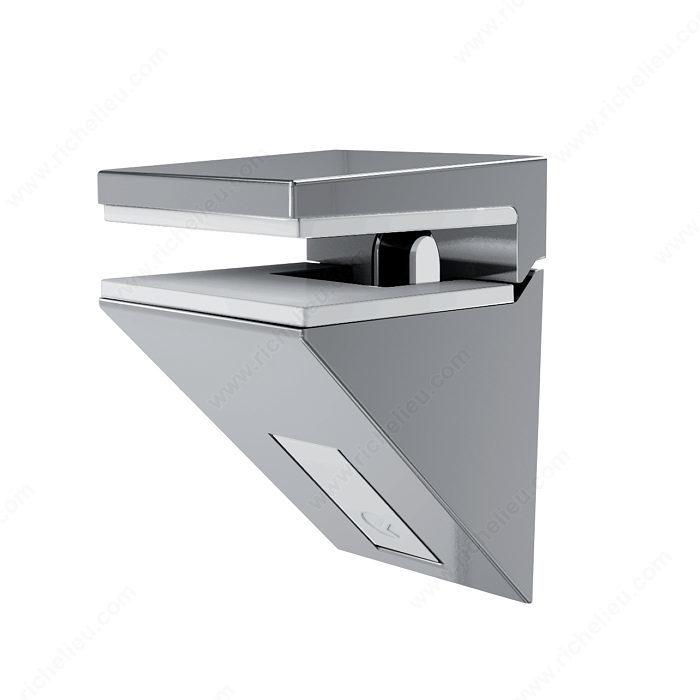 Kalabrone Mini Glass Wall Shelf Support - Richelieu Hardware