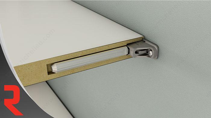 triade maxi support dissimul pour tablette murale. Black Bedroom Furniture Sets. Home Design Ideas