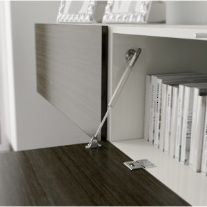 Bras de suspension Kraby pour porte rabattable
