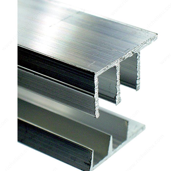 sliding door track series 3314 richelieu hardware. Black Bedroom Furniture Sets. Home Design Ideas