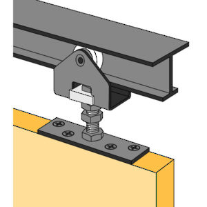 Hardware Package - 225 lb. Door Track