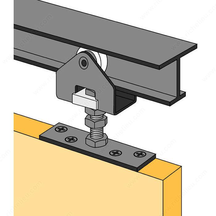 Hardware Package 225 Lb Door Track Richelieu Hardware