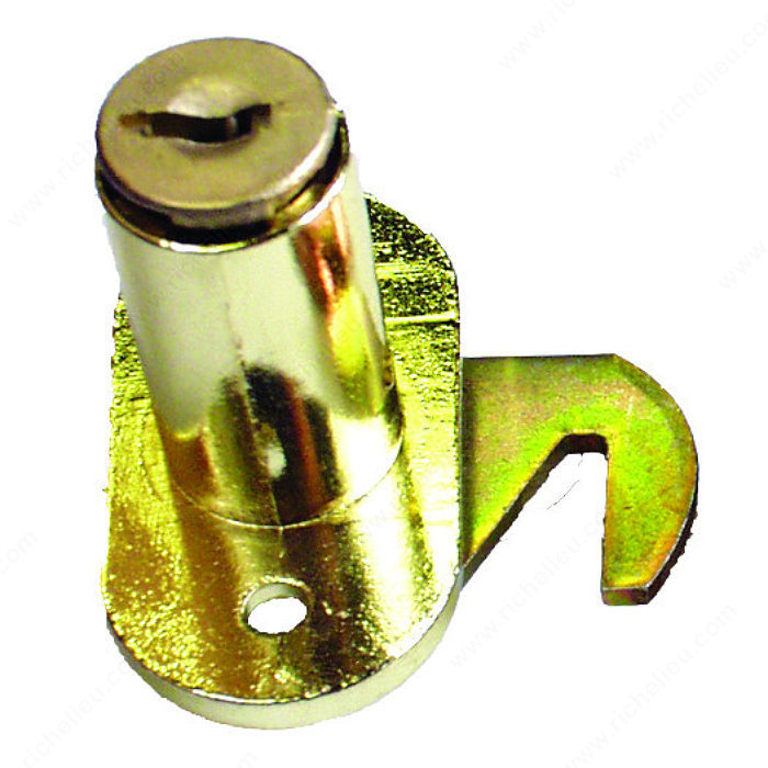 Serrure crochet pour porte coulissante fermeture simple for Installer une porte coulissante en applique