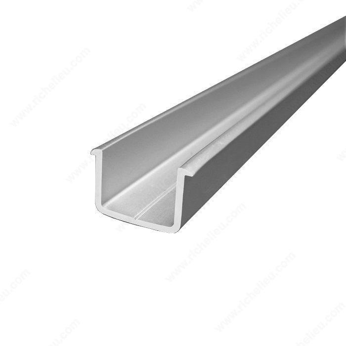 Riel de gu a de aluminio richelieu hardware - Guia de aluminio ...
