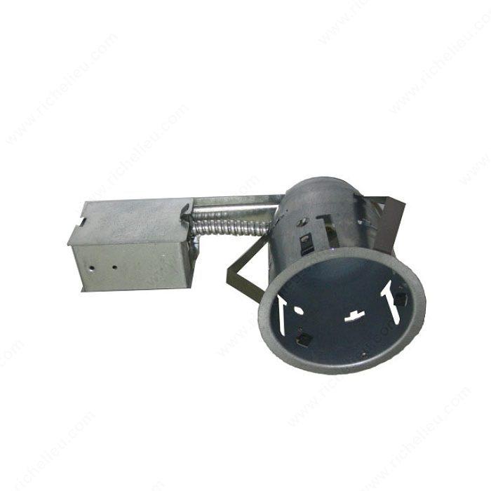bo tier encastr au plafond de 4 5 8 po pour ampoule fluorescente compacte de 13 w ampoule non. Black Bedroom Furniture Sets. Home Design Ideas