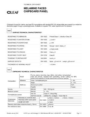 Technical Datasheet